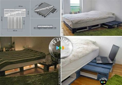 Cómo hacer camas con palets paso a paso   Tozapping.com