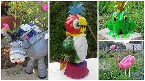 Cómo hacer figuras de animales con botellas de plástico ...