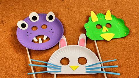 Cómo Hacer Máscaras para Niños con Platos Desechables ...