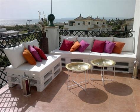 Cómo hacer muebles con palets   Decoracion de INTERIORES
