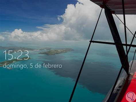 Cómo hacer pantallazo pantalla bloqueo y login Windows 10 ...