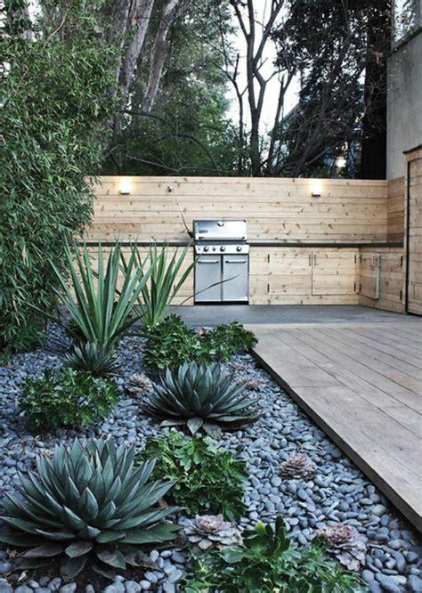 Como hacer un jardín con piedras rocas y plantas