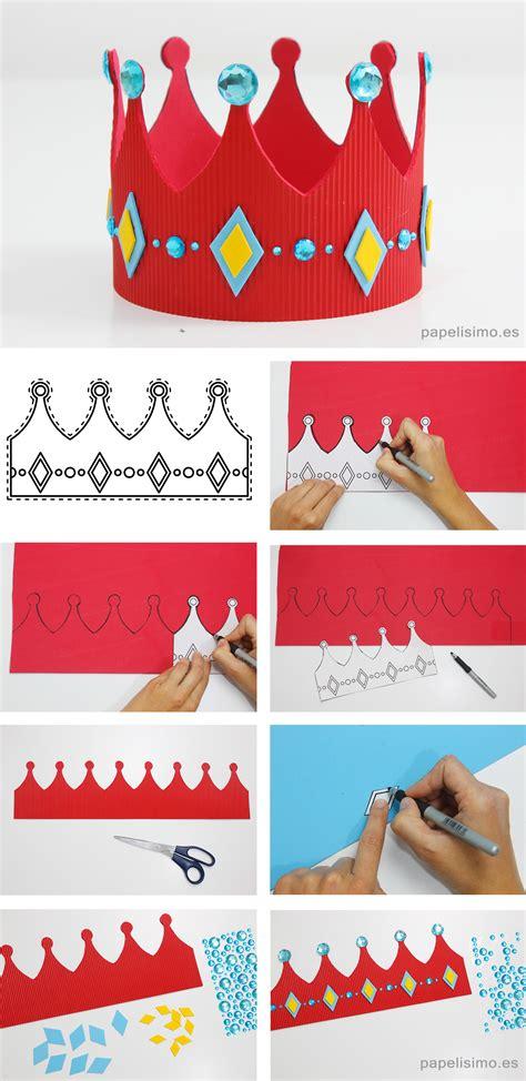 Cómo hacer una corona de goma eva  con plantillas ...