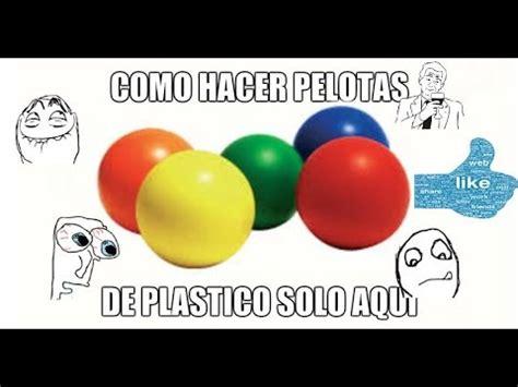 Como Hacer Una pelota De Plástico Facil ! HD   YouTube