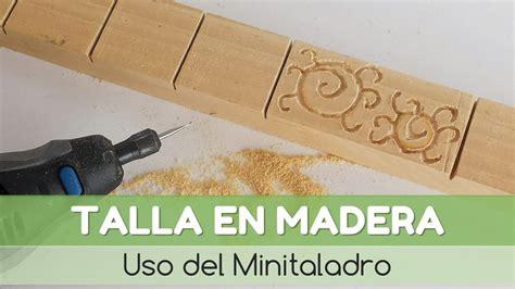 Cómo hacer una talla en madera | facilisimo.com   YouTube