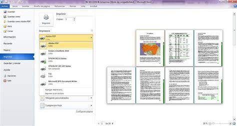 Cómo imprimir un PDF para imprenta desde Word