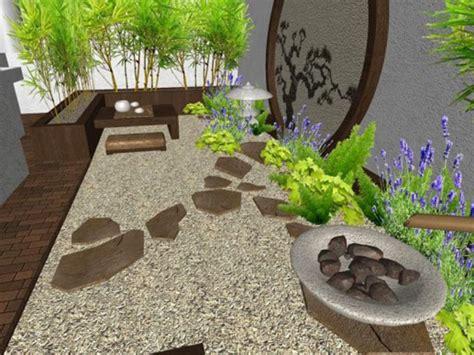Cómo instalar Jardines Zen relajantes en patios interiores ...