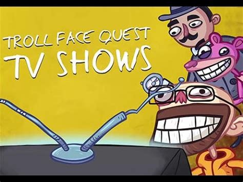 Como Jugar Troll Face Quest TV Shows Solucion 1/32 - YouTube