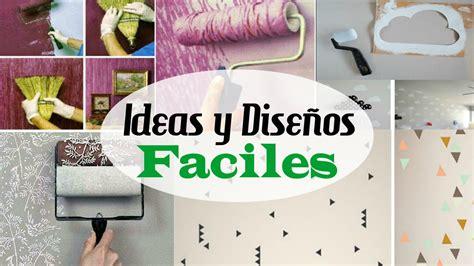 Como pintar paredes | Ideas y diseños faciles de ...