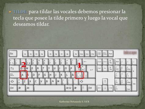 como poner acentos en el teclado 4 186 m 243 dulo el teclado