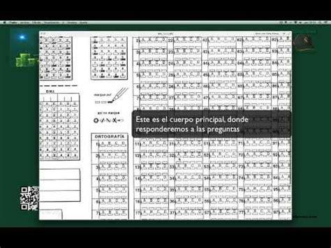Cómo rellenar la hoja de respuestas en los exámenes de ...
