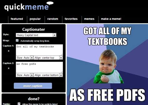 Cómo son las 10 mejores páginas web para hacer memes ...
