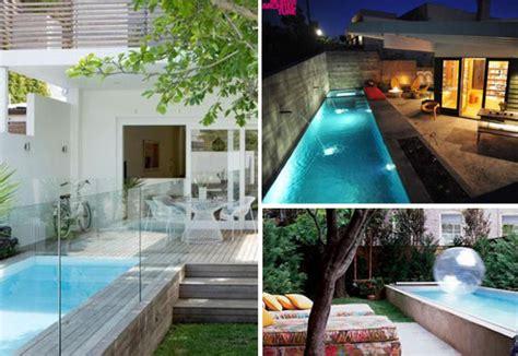 Cómo tener una piscina en un patio pequeño   The Luxonomist