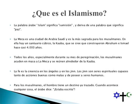 Comparacion Del Cristianismo E Islam