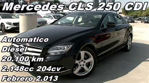 comparativa coches | Mercedes CLS 250 CDI coche de ocasion ...