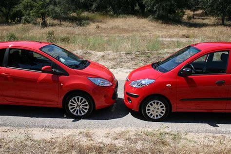 Comparativa coches urbanos: i10, 500 y Ka | Auto Sprint