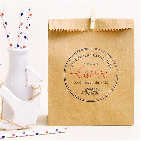 Comprar Bolsas kraft regalos comunión niños: Vintage
