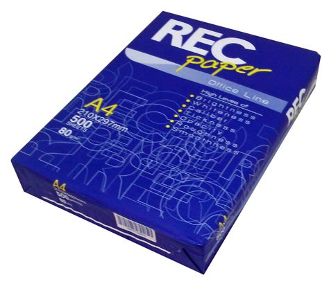 Comprar palet papel a4 80 gramos fotocopiadora Rec Paper ...