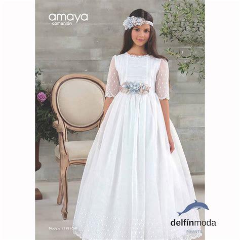Comprar Vestido de Comunión AMAYA 2018 modelo 111910