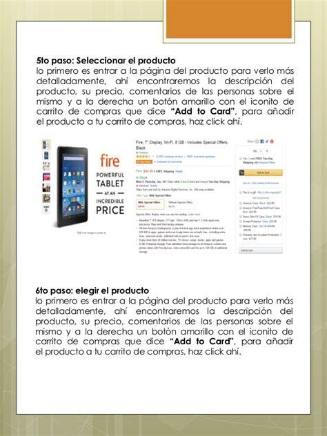Compras online en Amazon