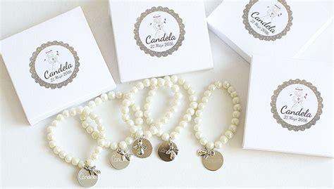 Comunión: Pulsera de perlas personalizadas, un bonito ...