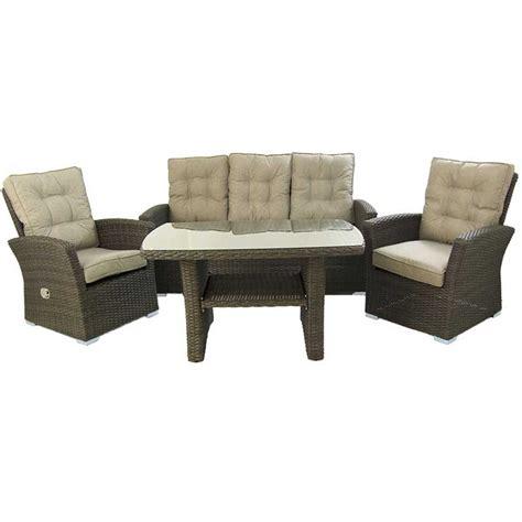 Conjunto sofas jardin rattan sintetico Are Choco