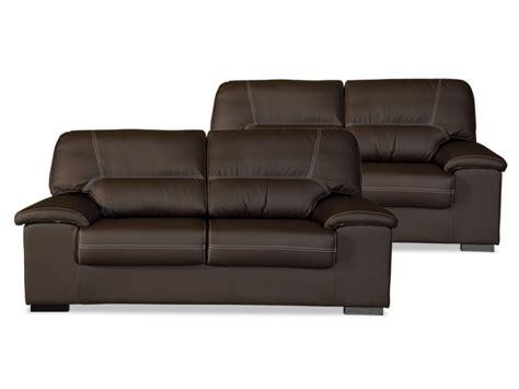 Conjunto sofás Premium 3+2 plazas Piel Sintética artesanal