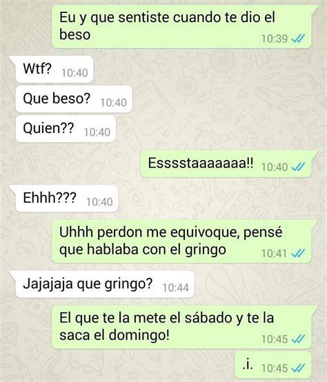 Conversaciones graciosas por whatsapp