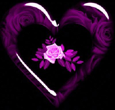 Corazones y Rosas Con Movimiento Para Whatsapp