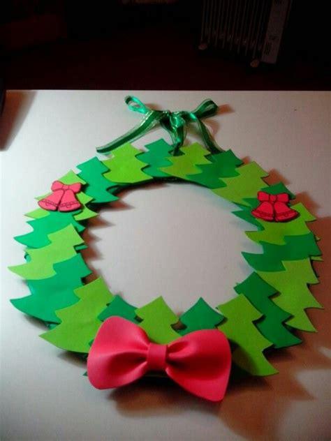 Corona de árboles de goma eva. Navidad | navidad 2014 ...