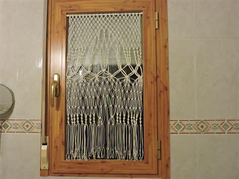 Cortina para ventana con macramé   Comunidad Leroy Merlin