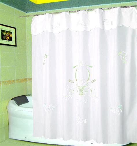 Cortinas De Baño Bordadas En Cinta ~ Dikidu.com