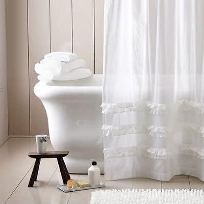 Cortinas de baño, ¿largas o cortas?   Decoración de ...