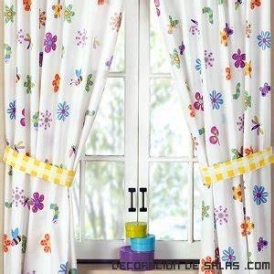 Cortinas de flores para todas las habitaciones