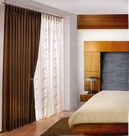 Cortinas para dormitorios   Dormitorios colores y estilos