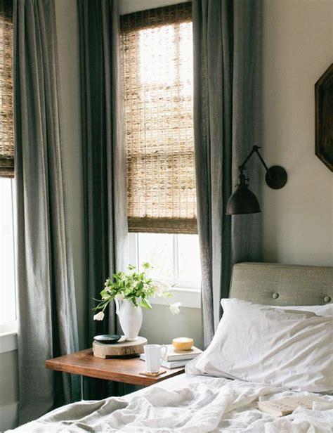 Cortinas y estores apropiados para habitaciones