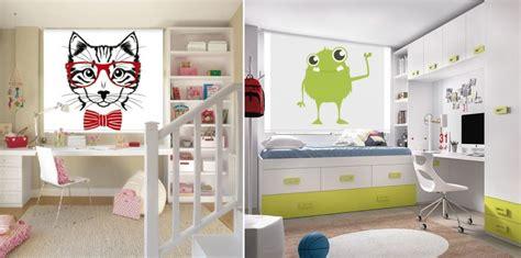 Cortinas y estores para habitaciones juveniles: apunta ...