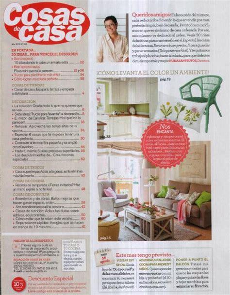 Cosas de casa, Revista de decoración  28/05/2015