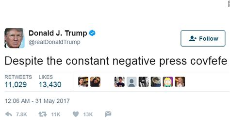 Covfefe  tells you all you need to know about Donald ...