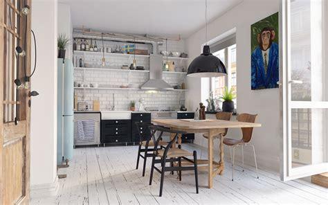 Cozy Scandinavian interior in Gothenberg Free 3D MODEL  on ...