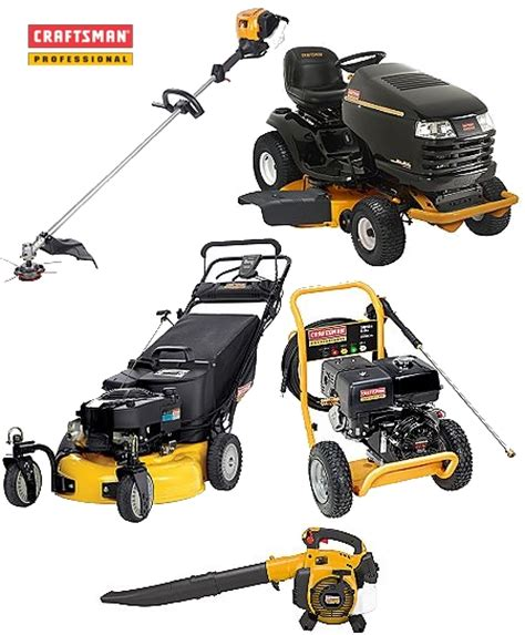 Craftsman Professional Powered Lawn Equipment | Toolmonger