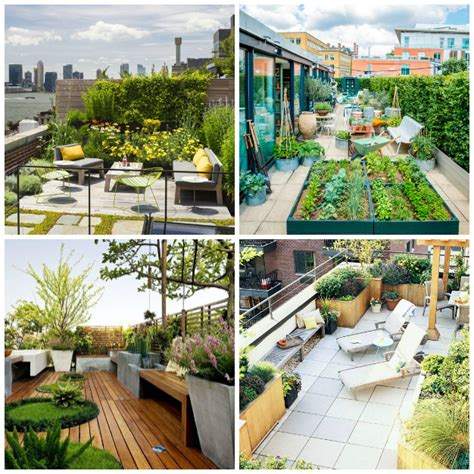 Crea un jardín en tu terraza