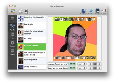 Create An Intertubes Sensation with Meme Generator « Mac ...