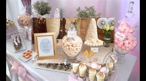 Creative First communion party decorations ideas   YouTube