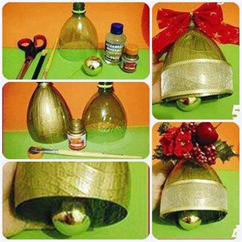 Creative Ideas   DIY Christmas Bell Ornament from Plastic ...