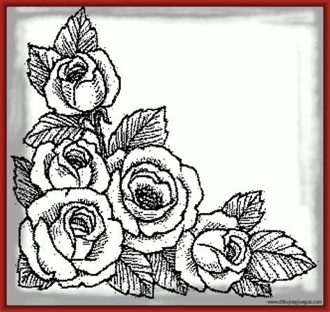 Creativos Dibujos para Pintar de Rosas | Imagenes de Rosa