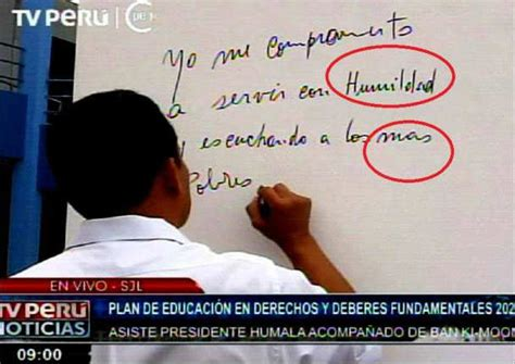 Critican a Ollanta Humala por errores ortográficos  FOTOS ...