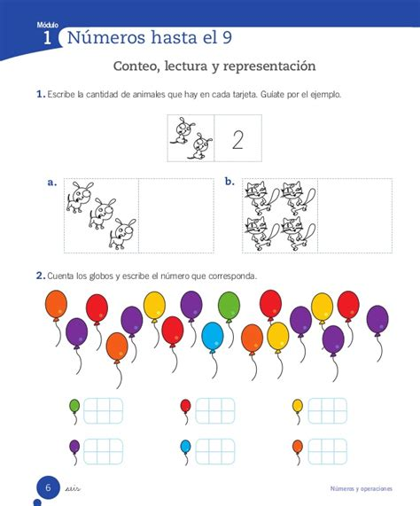 Cuaderno Actividades Matemática 1º