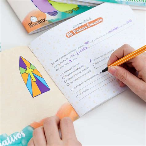 Cuaderno Primera Comunión – Regalo – My Retrobox ...