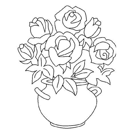 Cuadros de flores para colorear
